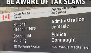 Door to Door Tax Scam